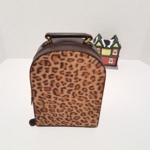 Leapord print jewelry case
